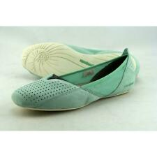 e41669ba Patagonia Maha Ballet Perf Flat Slip-on Leather Breathe Shoes Aqua Blue  Women Sz 9