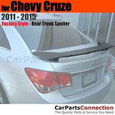 Painted Trunk Sport Spoiler For 11 15 Chevy Cruze Wa636r Silver Ice Metallic Fits Cruze