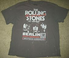Original The Rolling Stones T Shirt Tour Europe 76 Berlin West Germany 1976 2XL