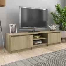Wooded TV Stand Unit Entertainment Media Center Console Storage Shelf Cabinet