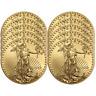 Lot of 10 - 2018 $5 American Gold Eagle 1/10 oz Brilliant Uncirculated
