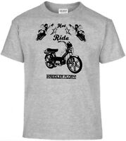 T-Shirt,Kreidler Flory,Pinup,Motorrad,Bike,Oldtimer,Youngtimer