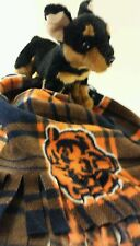 Chicago Bears, Fuzee Fleece Dog Blankets,Soft Pet Blanket Travel Throw Cover