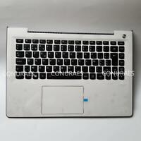 New Genuine For Lenovo U31-70 Palmrest Touchpad W/ Belgian Keyboard 5CB0J30919