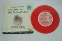 Vivien Leigh reads Mrs Tiggy-Winkle Red Vinyl Single HMV Beatrix Potter