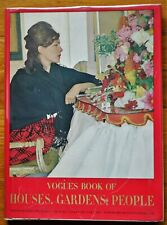 DIANA VREELAND - VOGUE'S BOOK OF PEOPLE, GARDENS, HOUSES - 1968 1ST EDITION FINE