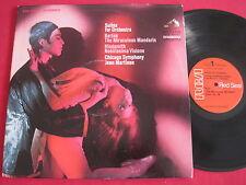 BARTOK - MIRACULOUS MANDARIN - HINDEMITH - MARTINON RCA LSC-3004 STEREO LP 1S/1S