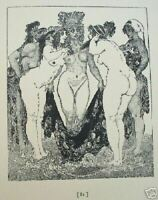 1930 LYSISTRATA by NORMAN LINDSAY w 19 illustrations, free shipping