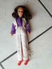 Miss Matchbox -dunkelhaariges Girl - 70 er Puppe -bekleidet- (sehr schön)
