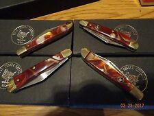 "WILD TURKEY CUTLERY USA 3"" SINGLE BLADE POCKET KNIFE 440S.S. BLADE MULTI-COLORED"