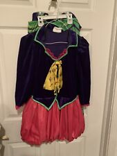 California Costume Mad Hatter Costume Tween Size XL 12-14 Alice In Wonderland