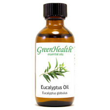 2 fl oz Eucalyptus Globulus Essential Oil (100% Pure & Natural) - GreenHealth