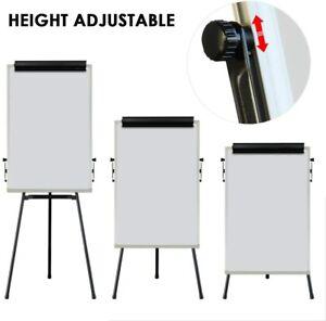 Flip Chart Adjustable Magnetic Whiteboard Tripod  60x90cm