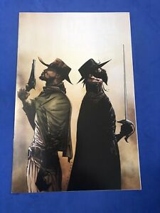 Django/Zorro #1 Jae Lee Virgin Variant Quentin Tarantino Dynamite 2014 NM+
