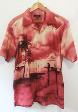 Viscose Regular Size Hawaiian Casual Shirts & Tops for Men
