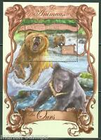 GUINEA  2013 THE ANIMALS BEAR  SOUVENIR SHEET MINT NH