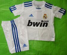 Rare~Adidas Real Madrid Spain Football Soccer~Shirt Jersey-Short-Set~Kids~sz 24M