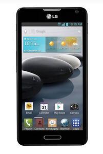 Brand New LG Optimus F6 MS500 - 4GB - Black (MetroPCS) Smartphone