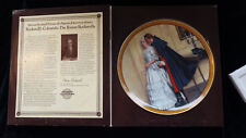 Plate Rarest Colonials #1 Unexpected Proposal Norman Rockwell Knowles Coa Mint