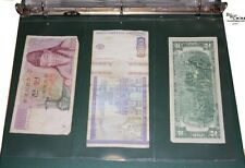 Premium 3 Pocket Currency Album Pages (lot of 5)