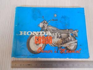 MANUALE USO MANUTENZIONE ORIGINALE 1972 HONDA CB 500 FOUR K1 OWNER'S MANUAL