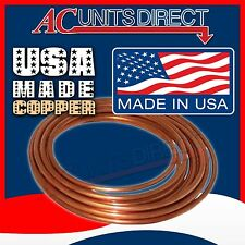 """3/4"""" Copper Tubing ACR 3/4""""OD x 50'ft Copper Line HVAC Refrigeration MADE IN USA"""
