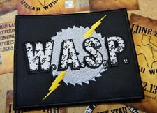 WASP W.A.S.P. patch