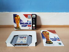 World Cup 98 France 98 N64 Complete VGC