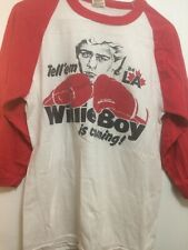 Boxer  Willy De Wit Tee Shirt This Canadian Silver Medaled At 1984 Olympics