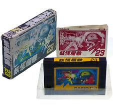 MSX ROM Cart Yokai Yashiki = Japan Import Casio YOUKAI Complete Box-Damaged RARE