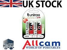 Uniross HYBRIO 2100mAh AA rechargeables piles (4pcs), paquet de détail, nouveau