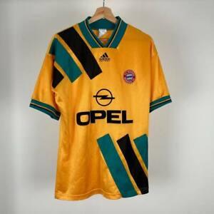 Bayern Munich Away football shirt 1993 1995 Adidas Men's M Vintage Jersey Soccer