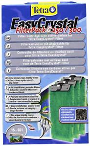 Tetratec Easy Crystal Filter Pack C 250/300 Carbon Tetra Fish Tank Filter Media