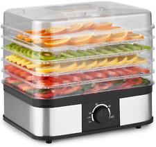 Déshydrateur alimentaire 5 étages Plateau Étagère Sèche-linge Machine à fruits l...