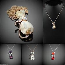 Swarovski Modeschmuck-Halsketten & -Anhänger aus Metall-Legierung