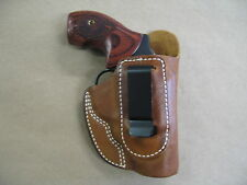 Taurus 85, 605, 650 Iwb Leather In The Waistband Concealed Carry Holster Tan Rh