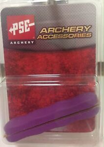 NEW PSE ARCHERY PURPLE COLORED RUBBER PANEL GRIPS FOR PSE BOW HANDLE