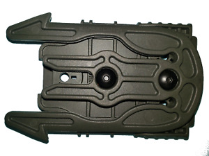 Safariland MOLLE Accessory Mount with MOLLE Receiver Plate 6004-16-54-MS22 Green