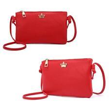Women's Shoulder Bag PU Leather Messenger Coin Cell Phone Handbag Satchel Purse