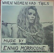 "Ennio Morricone  ""When Women Had Tails"" Soundtrack Vinyl LP white label M-1002"