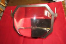 1950's Mcm Tv Television Screen Magnifier Lense Enlarger w/Stand-Hanger Lucite
