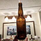Pre-Pro Beer Bottle Christian Moerlein Brewing Co Cincinnati OH Amber Long Neck