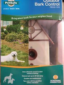 PetSafe Ultrasonic Outdoor Dog Bark Deterrent Bird House - PBC00-11216 NEW