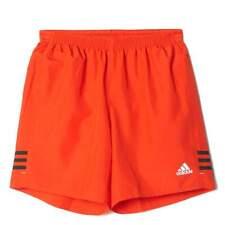 Adidas Mens Orange Black Response 7 Inch Sports Shorts Size S