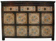 Original Painted Tibetan Sideboard Cabinet (33-020)