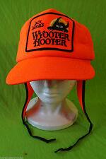 Jack Daniel's Wyooter Hooter patch neon dayglow orange fluorescent earmuff flap