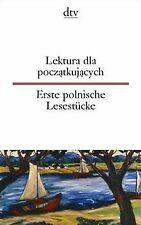 Lektura dla poczatkujacych Erste polnische Lesestücke   Buch   Zustand gut