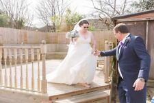 Size 20 wedding dress used