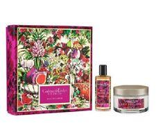 Crabtree & Evelyn Rose Pineapple Body Cream & Shimmer Dry Oil Jumbo Gift Box