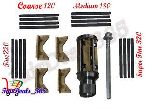 """Engine Cylinder Hone Kit - 4-1/2"""" To 8-1/2"""" Honing Machine + Honing Stones"""